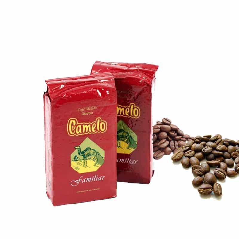 Cafe camelo molido mezcla
