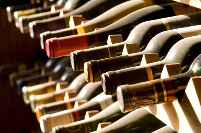 guardar el vino